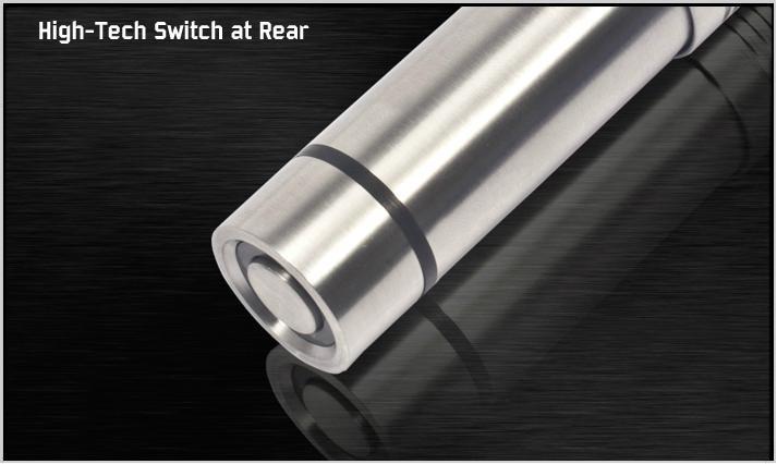 80流明 1×AA電池 CREE LED不鏽鋼電筒 3