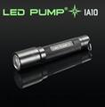 100流明 1×AA電池 CREE LED 鑽石紋鋁電筒 1