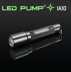 100流明 1×AA電池 CREE LED 鑽石紋鋁電筒
