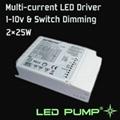 350~1000mA 多路恆流調光LED電源(2×50W) 1