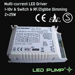 250~700mA 多路恒流调光LED电源 (2×25W)