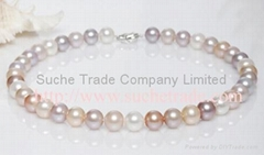 11-12mm AAA grade freshwater pearl necklace