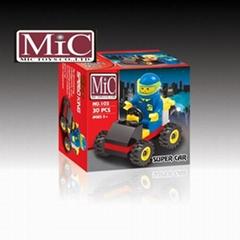 MIC 30塊益智LOGO積木 戰車103 5歲以上儿童玩具