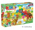 MIC 72PCS music zoo blocks puzzle 5012