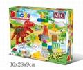 MIC 35PCS music zoo blocks puzzle 5013