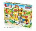 MIC 87PCS music zoo blocks puzzle 5016 1