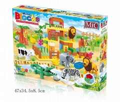 MIC 87PCS music zoo blocks puzzle 5016