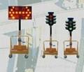 Solar Lifting Traffic Lights