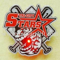 New baseball lapel pin