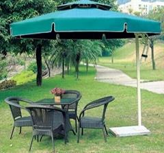 tent and umbrella