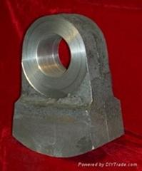 Bimetal crusher hammers