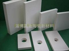 管道耐磨陶瓷衬板