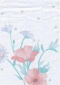 Printed flower cloth 1
