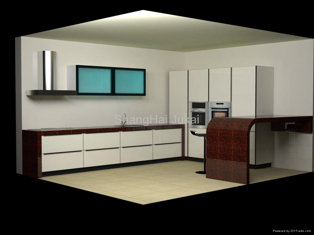 Kitchen cabinet glass door gl8366 open china services for Kitchen door with window