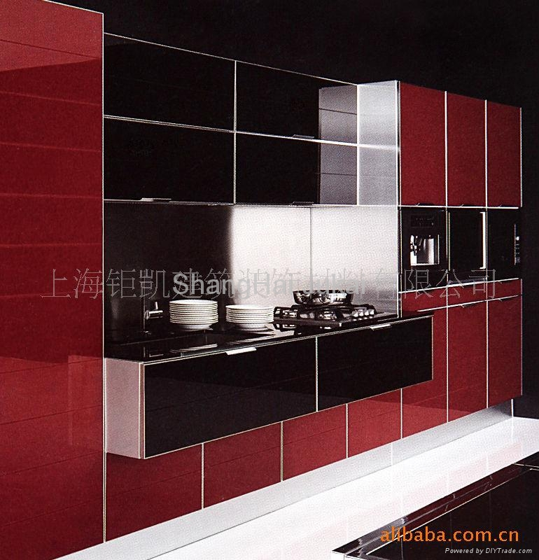modern glass door for kitchen cabinet gl8299 open china