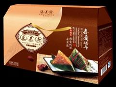 礼品卡定制粽子包装设计团购海鲜礼品