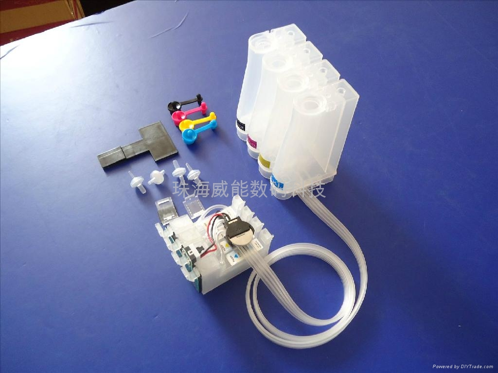 威佳 愛普生ME330連供系統 T1411-T1414連供墨 1