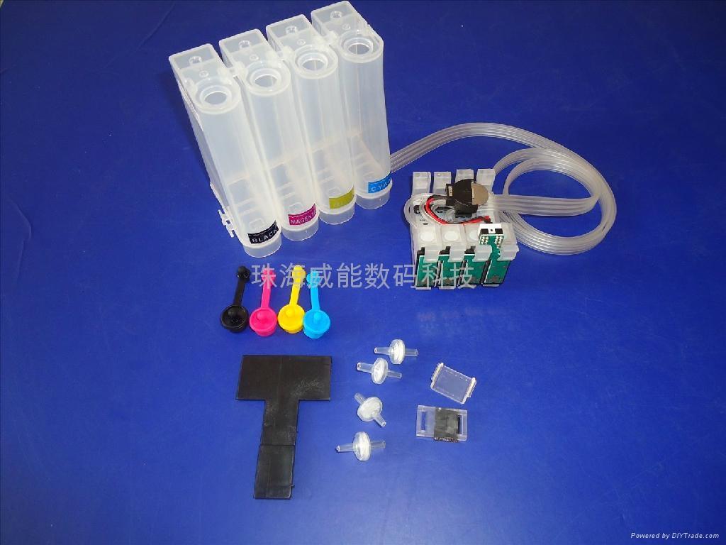 威佳 愛普生ME330連供系統 T1411-T1414連供墨 5