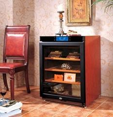 实木恒温恒湿雪茄柜