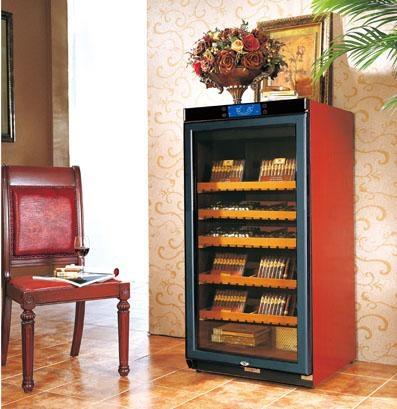实木恒温恒湿雪茄柜 5