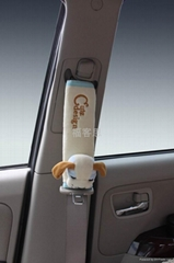 福客思嘟比狗汽车安全带套