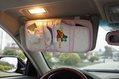 福客思咪呢兔卡通汽车CD遮阳板证件夹