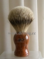 Silvertip Badger Brush with Ancient Wood Handle