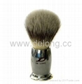 Nylon Hair Brush with Metal Handle