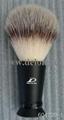 Nylon Hair Brush with Metal Handle