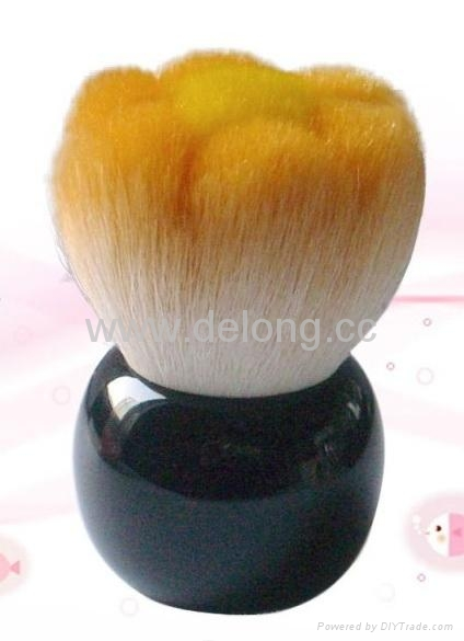 Facial brush with Resin Handle