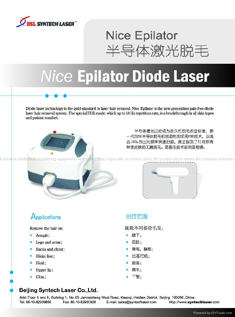 Epilatori laser Cina