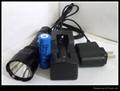 3W强光充电手电筒