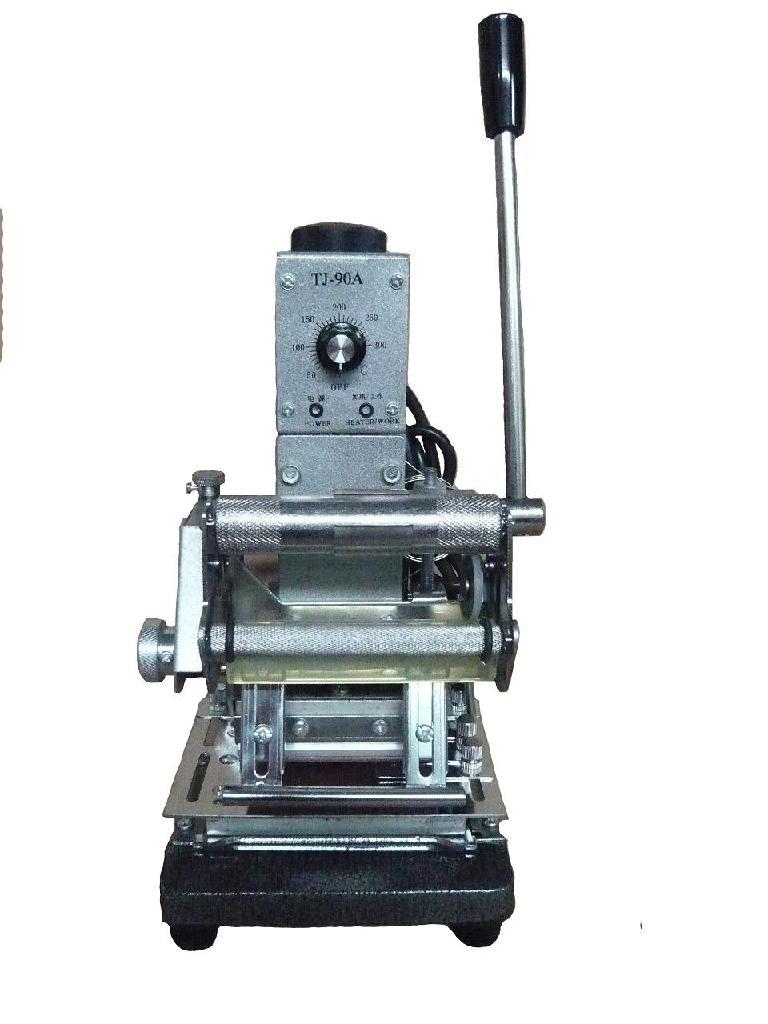 Hot stamping machine, Credit card tipper 1