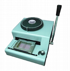 Manual Pvc card Embosser(Credit Card)