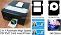 Auto CD PVC Card Inkjet Printer