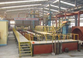 半自动砂处理生产线 1