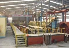 半自动砂处理生产线