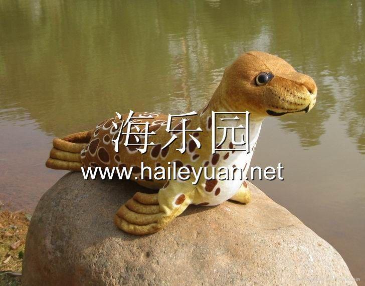 海豹仿真海洋毛绒玩具 1