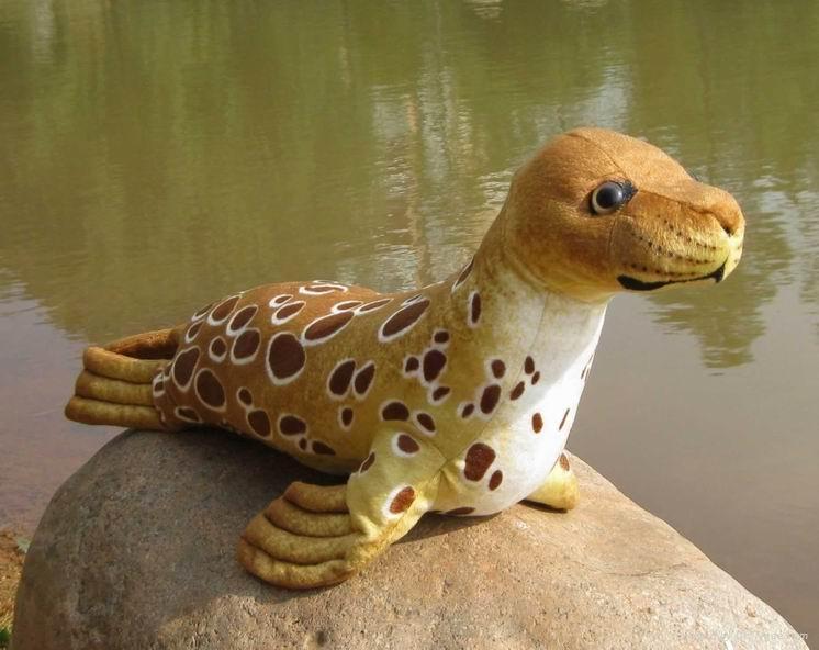 海豹仿真海洋毛绒玩具 4