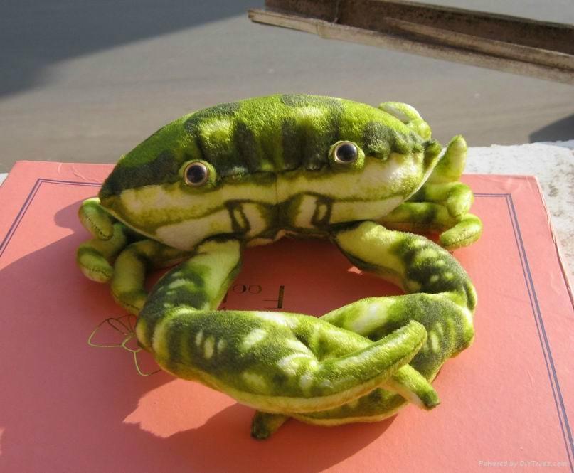仿真螃蟹毛绒玩具 1