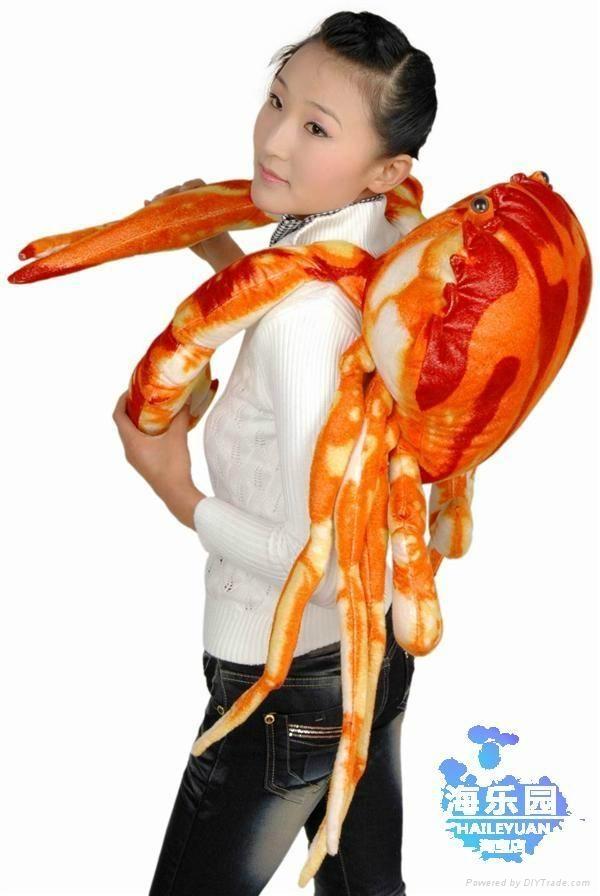 仿真螃蟹毛绒玩具 3