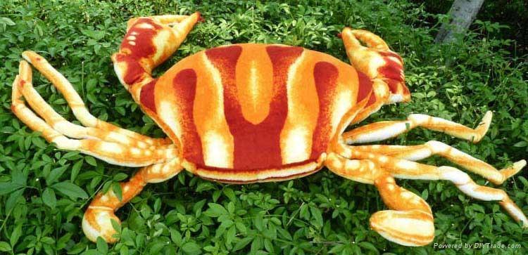 仿真螃蟹毛绒玩具 4
