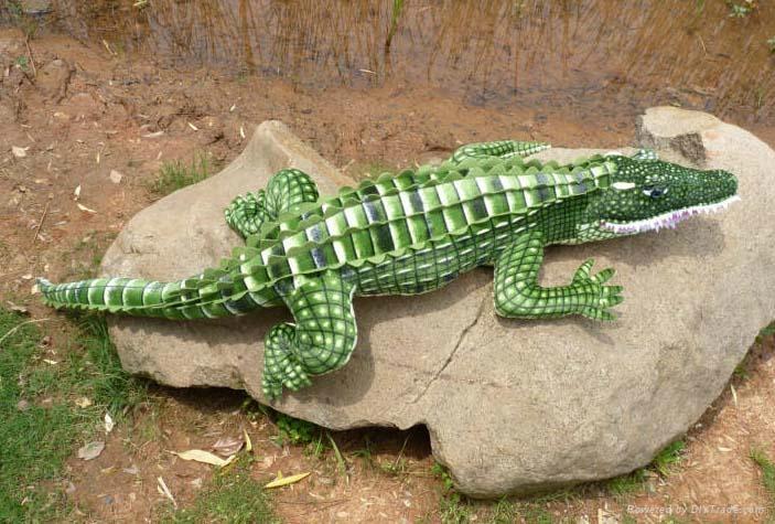 仿真鳄鱼抱枕毛绒玩具礼品 2