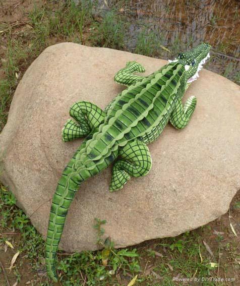 仿真鱷魚抱枕毛絨玩具禮品 5