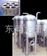 多袋式不鏽鋼快速高效過濾器