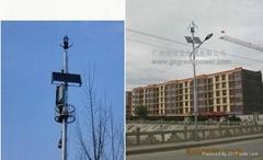 綠欣系列垂直風光互補路燈