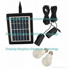 2W Solar Home Lighting System