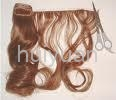 fashion!100% remy human pu hair extension