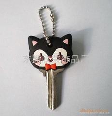 供應pvc鑰匙套