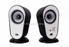 Factory 2.0 computer speaker exporter usb speaker exporter